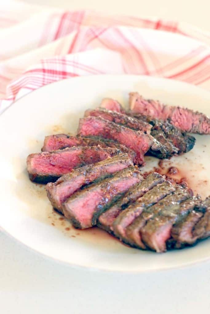 Perfect Pan Seared Steak With Browned Butter Pan Sauce