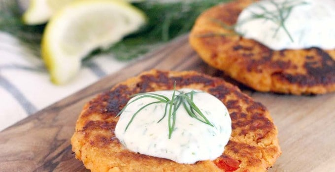 Paleo Tuna Croquettes with Lemon Dill Aioli