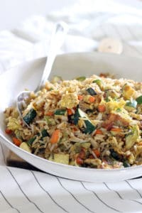 10 Minute Veggie Fried Rice 2