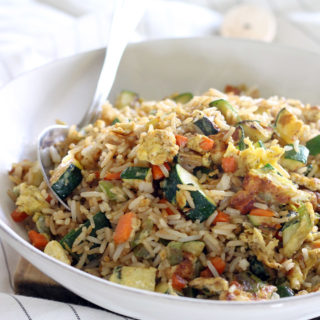 10 Minute Veggie Fried Rice