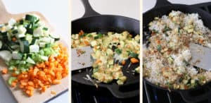 10 Minute Veggie Fried Rice 3