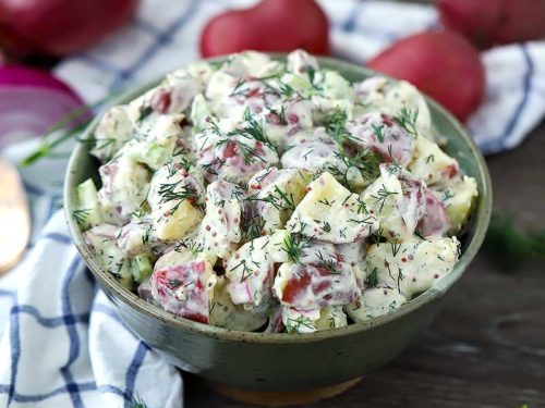 Potato Salad With Dijon Mustard And Vinegar