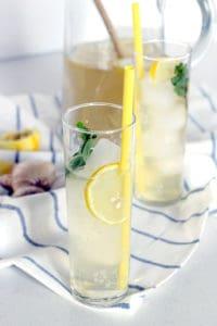Iced Ginger Honey Lemon Tea 2