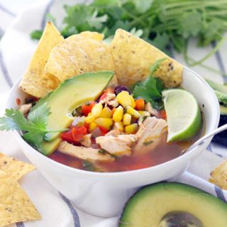 Quick and Easy One-Pot Chicken Tortilla Soup