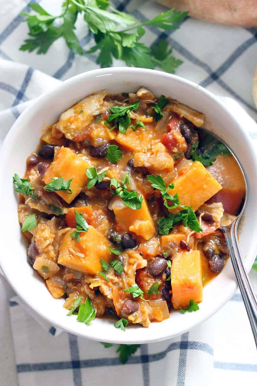 Sweet Potato, Apple, and Chicken Stew photo