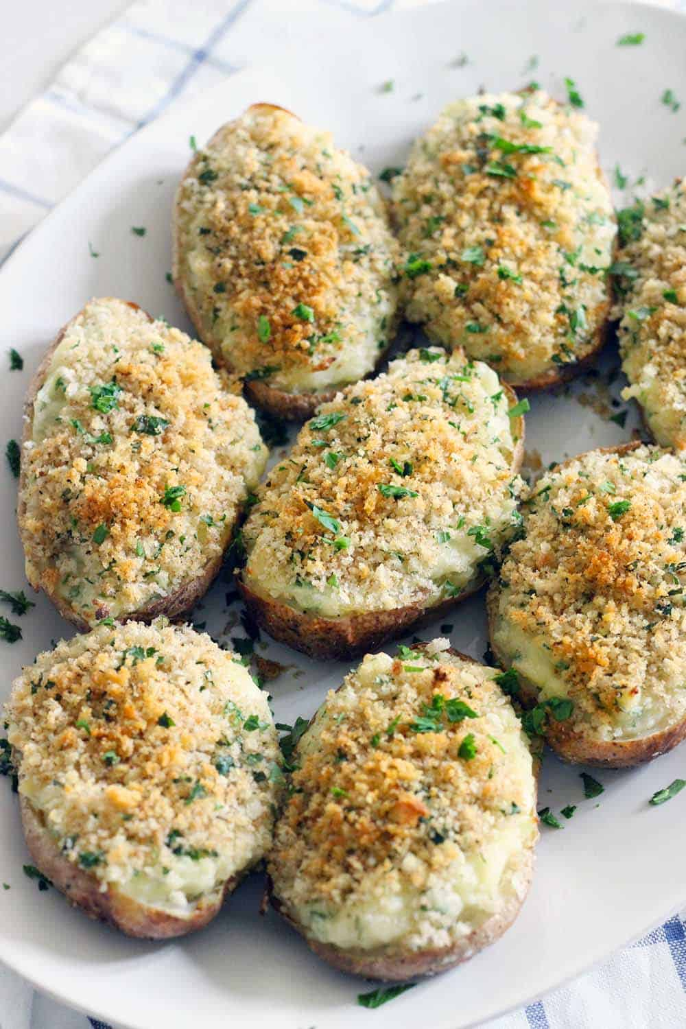 Twice Baked Potatoes My Grandfather S Famous Recipe