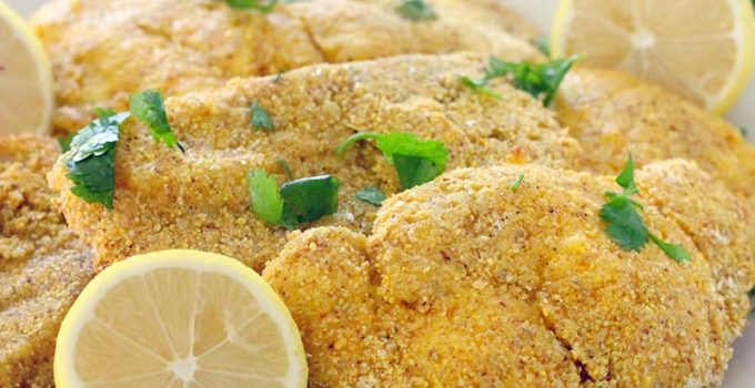 Four Ingredient Southern Style Oven Fried Catfish