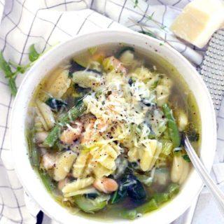 Green Machine Minestrone Soup