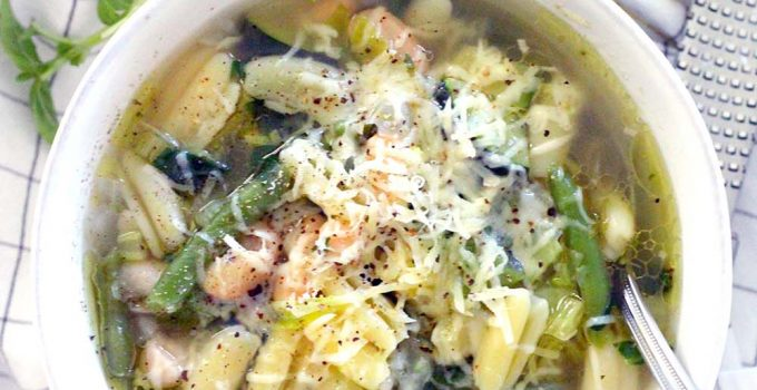Green Machine Minestrone Soup