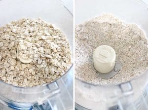 How to make oat flour in your food processor
