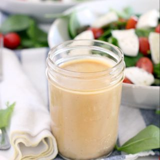 Creamy Maple Balsamic Dressing