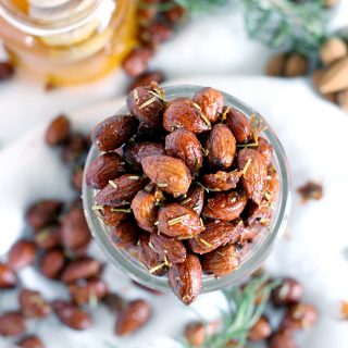 Rosemary and Honey Roasted Almonds