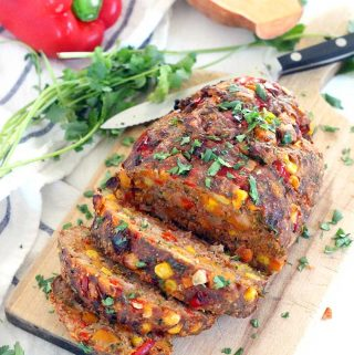 Veggie-Packed Southwestern Meatloaf