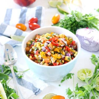 Simple Summer Peach Salsa