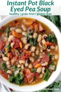 pinterest image for black eyed pea soup