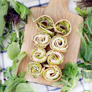 Zucchini Butter and Turkey Roll-Ups