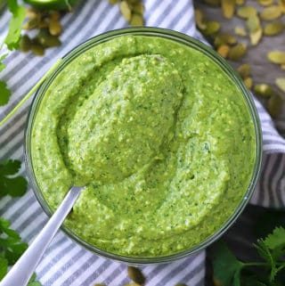 Five Minute Avocado Sauce