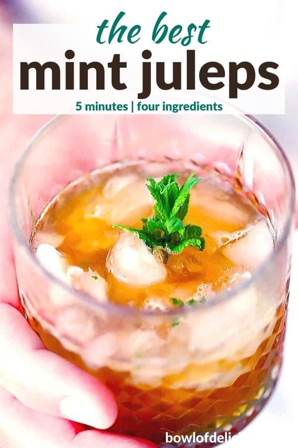pinterest image for mint juleps