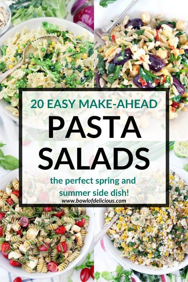 pinterest image for pasta salad recipes