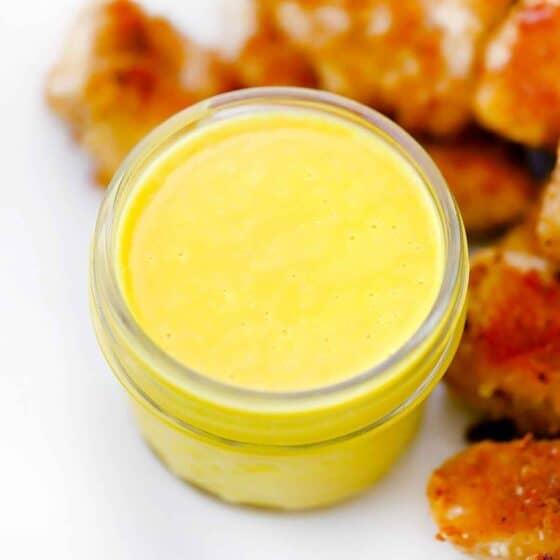 Homemade Honey Mustard Sauce/Dressing