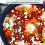 Pinterest image for shakshuka.