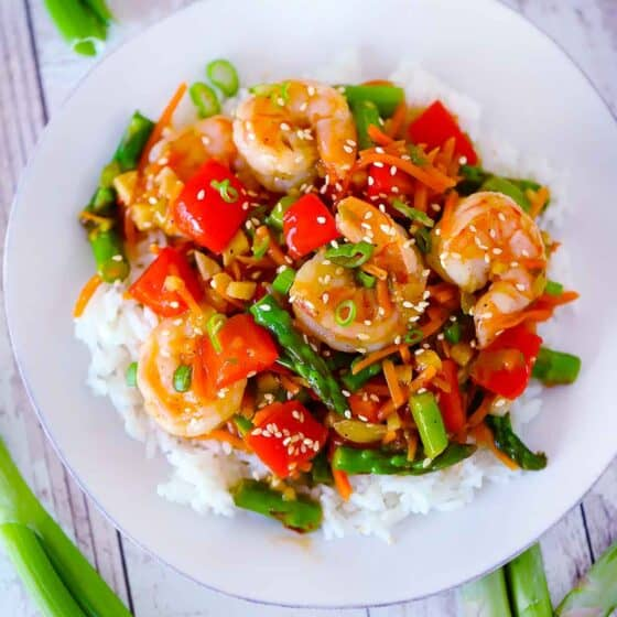 Easy Shrimp Stir Fry with Vegetables